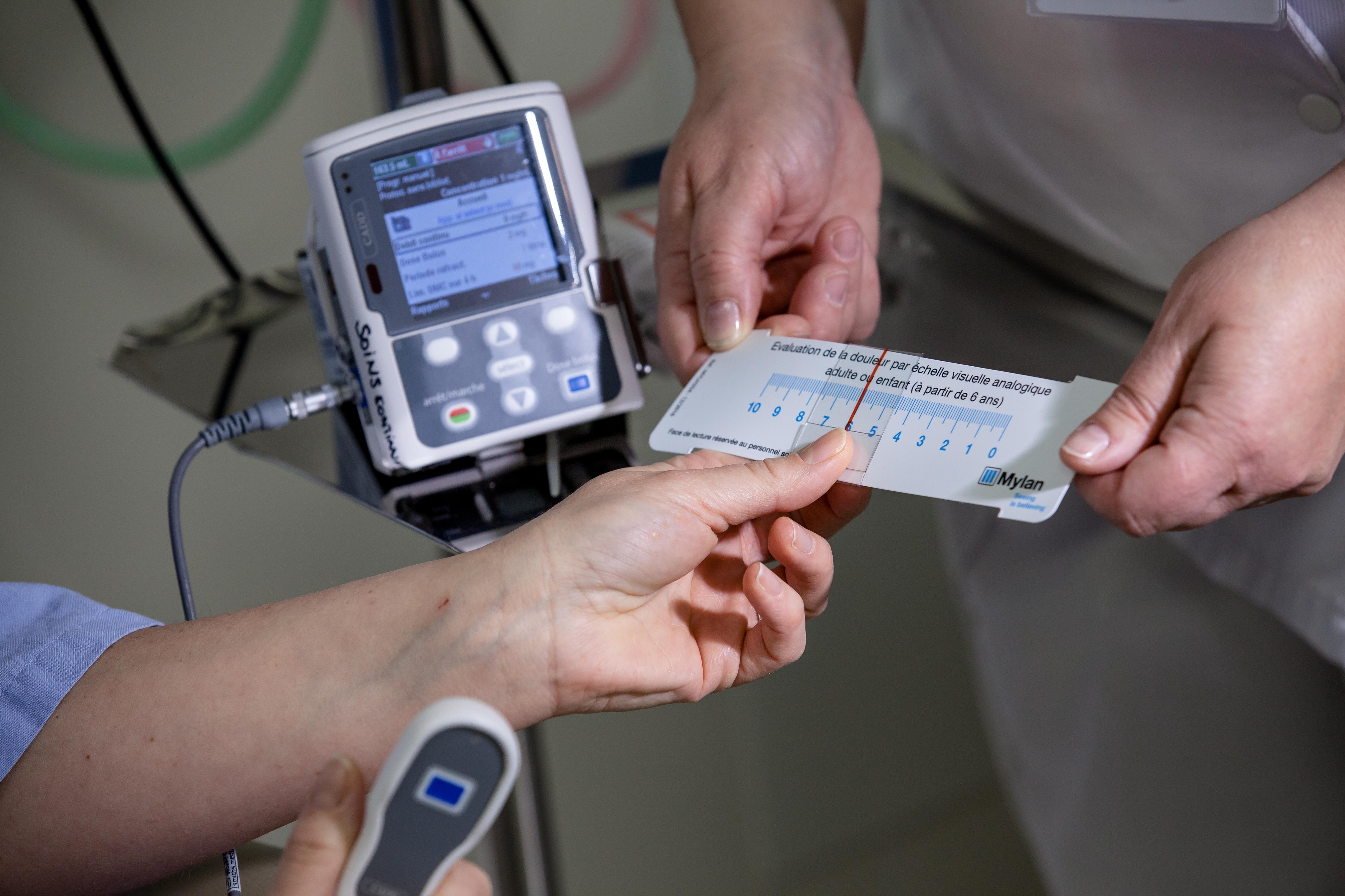 Prise en charge de la douleur Hôpital privé Dijon Bourgogne - Photo : La Courtoisie